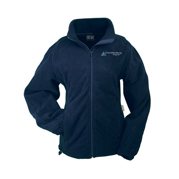 Women's Microfiber Fleece Jacket - Chambersburg Hospital